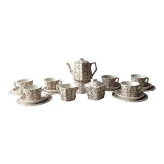 Antique Victorian Child's Tea Set For Sale