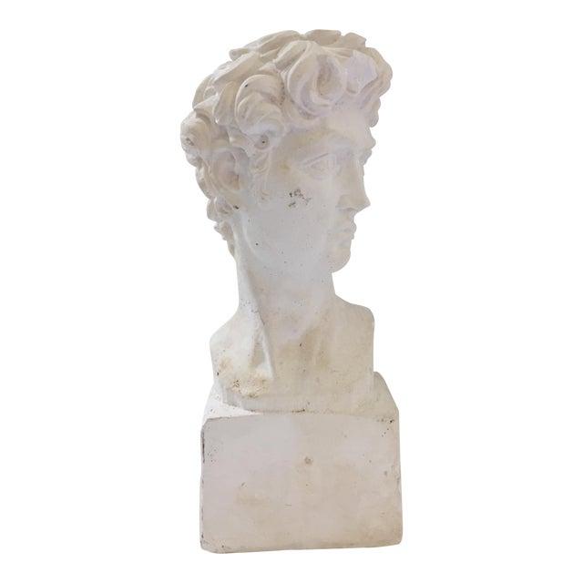 Plaster Bust of David Sculpture - Image 1 of 5