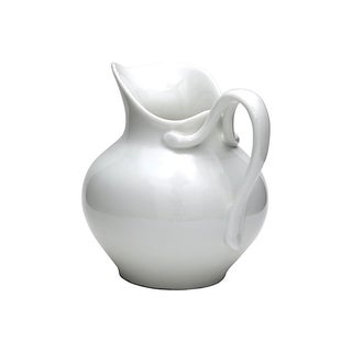 Antique French White Porcelain Water Jug Preview