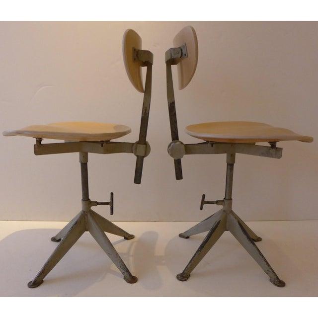 Odelberg Olsen Work Chairs - Image 2 of 11