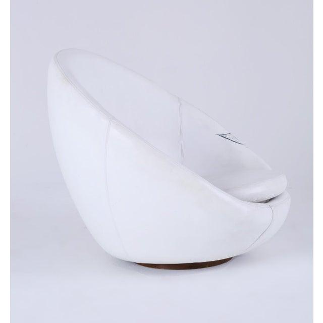 Milo Baughman Thayer Coggin Swivel Egg Chair For Sale - Image 10 of 13