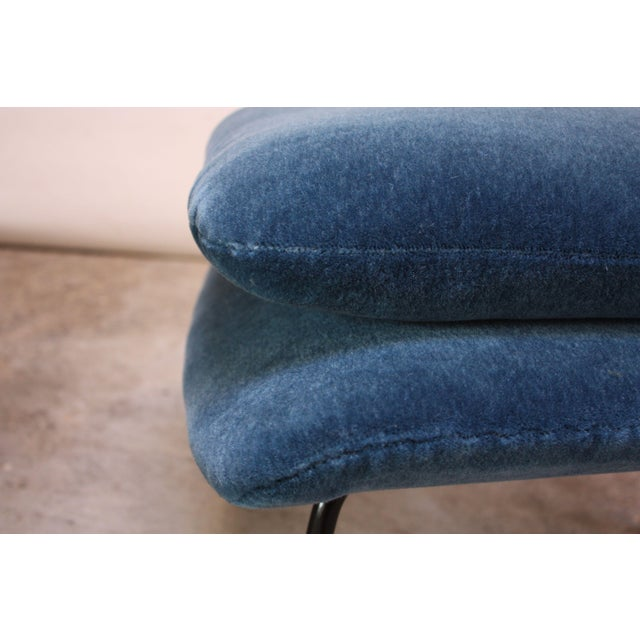 1950s Early Production Eero Saarinen for Knoll Womb Chair and Ottoman - a Pair For Sale - Image 10 of 13