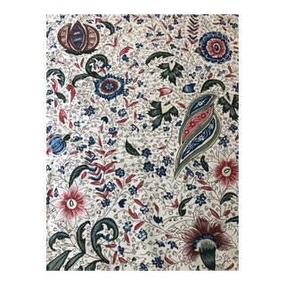 "Pierre Frey Braquenie Collection ""Fleurs Enchantees"" Fabric - 3 Yards For Sale"