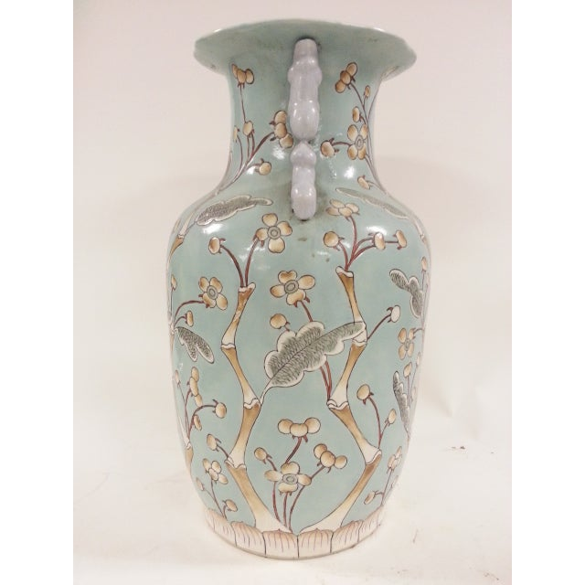 Chinese Vintage Bird & Flower Porcelain Vases - A Pair - Image 4 of 6
