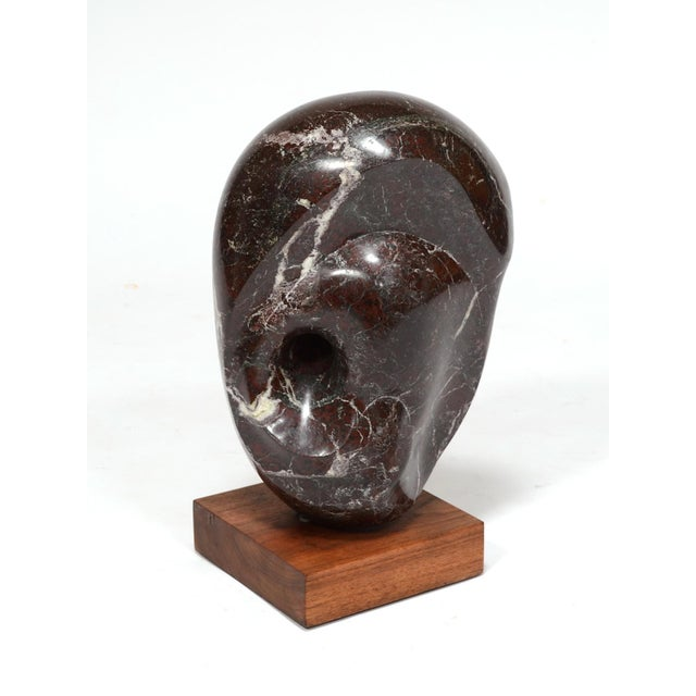 Abstract Marble Sculpture in the Manner of Barbara Hepworth - Image 3 of 11