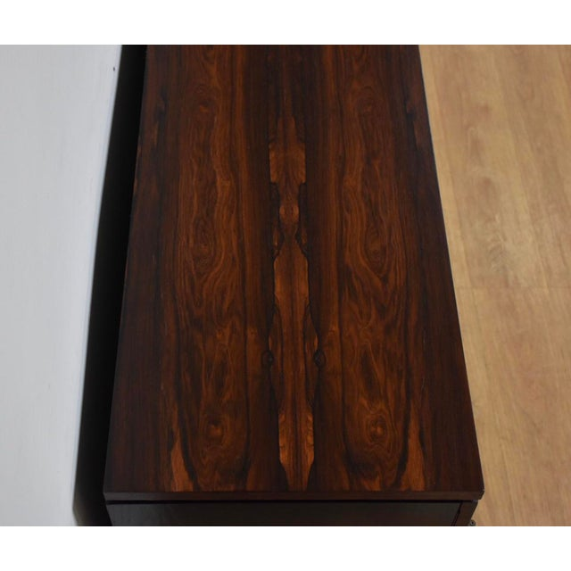 Rosewood Modern Credenza For Sale In Boston - Image 6 of 10