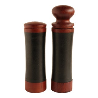 Laurids Lonborg Salt Shaker and Pepper Grinder For Sale