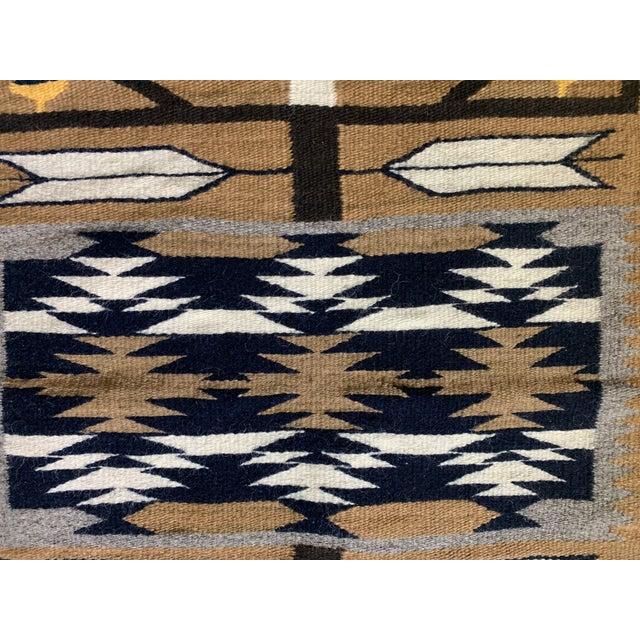 "1960s Vintage Navajo Pictorial Rug-2'4'x3'8"" For Sale - Image 10 of 13"