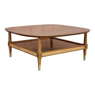 American of Martinsville Mid-Century Modern Square Coffee Table
