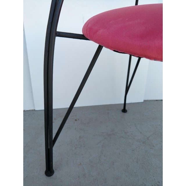 Pink Pascal Mourgue, Twist Chair, 1985 For Sale - Image 8 of 10