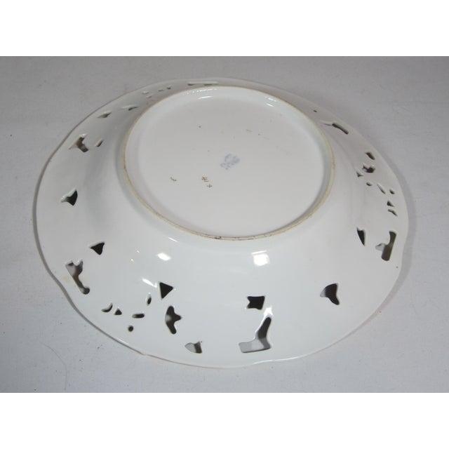 German Mauve & Turquoise Decorative Bowl For Sale - Image 5 of 5