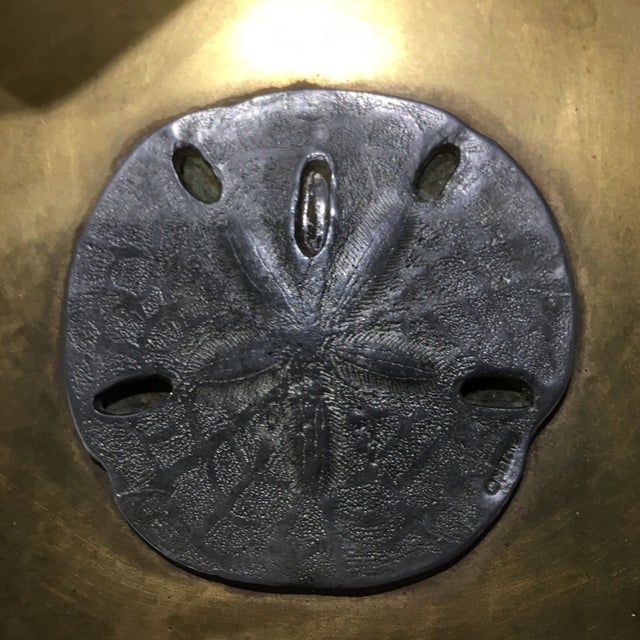 Vintage Brass Sand Dollar Box - Image 9 of 11