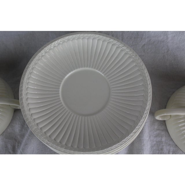 Wedgwood Wedgwood Windsor Soup Bowls and Plates - Set of 10 For Sale - Image 4 of 7