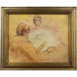 Gonzales Collado Portrait Oil Painting