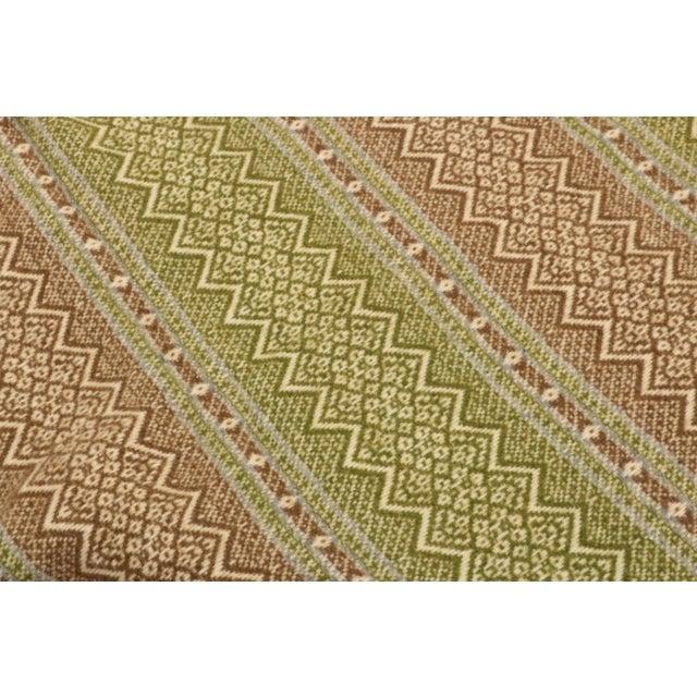 Amana Woolen Mills Fair Isle Wool Blanket For Sale - Image 4 of 6