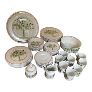 Gorgeous Villeroy & Boch Bon Appetit Made in Germany Dinner Set for 8,reduced Final For Sale