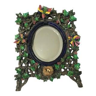 Majolica Ivy Framed Mirror