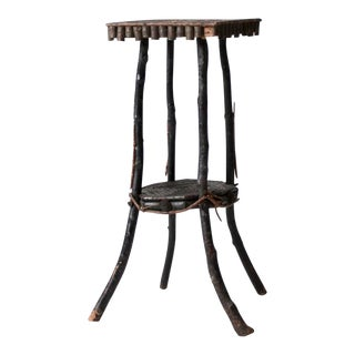 Antique Adirondack Twig Table For Sale