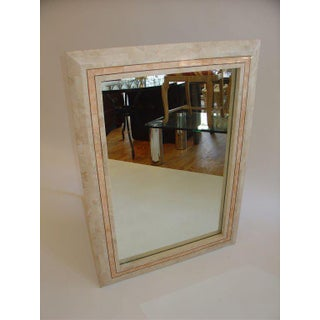 Maitland Smith Tessellated Mirror Preview