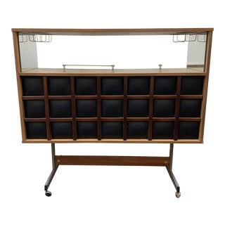 1960s Mid Century Modern Dry Bar For Sale