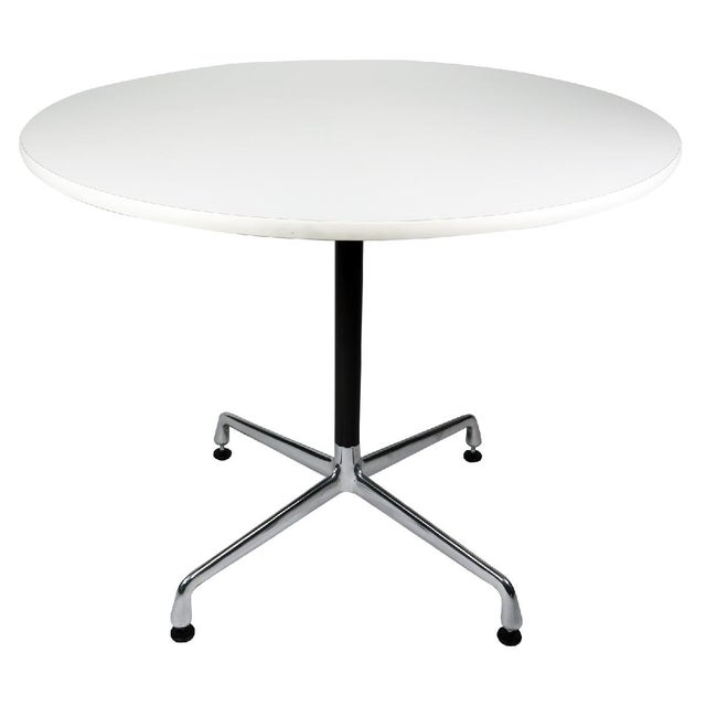 Aluminum White Eames Aluminum Group Table For Sale - Image 7 of 7