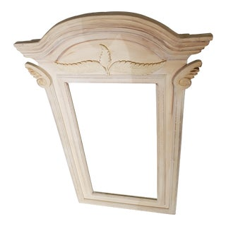 Large Antiqued French Country Mirror