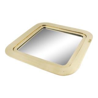 Italian Designer Esa Fedrigolli Large Bronze Tray Platter For Sale