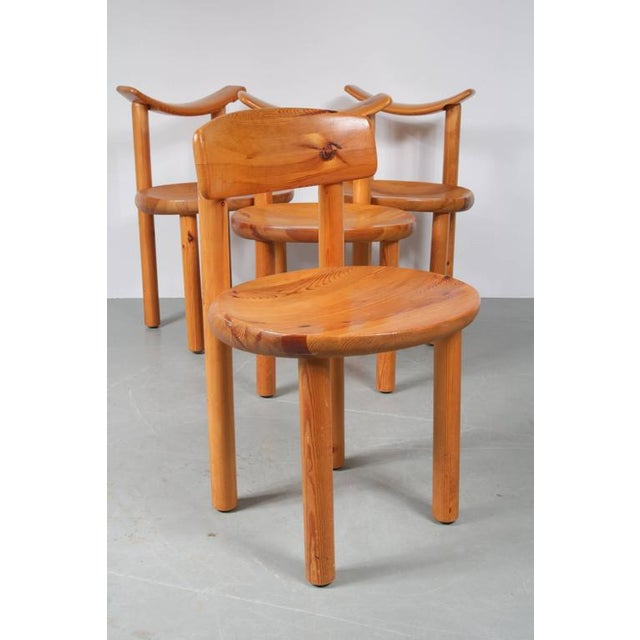 Set of Four Dining Chairs by Rainer Daumiller for Hirtshals Sawmill, Denmark - Image 6 of 8