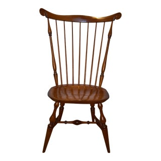 Set of Four Warren Chair Works Nantucket Style Windsor Side Chair