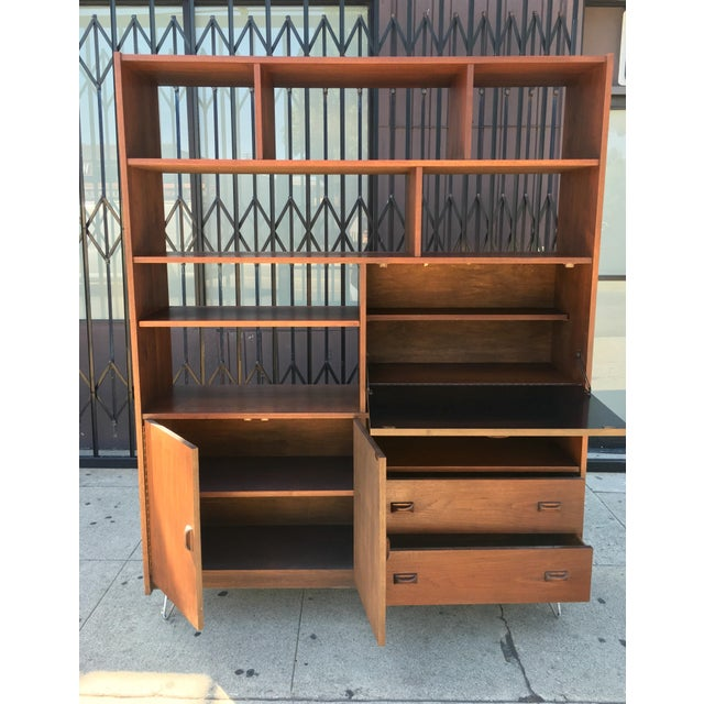 Horner Manufacturing Mid Century Wall Unit - Image 3 of 10