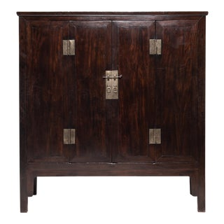 19th Century Chinese Fine Ironwood Cabinet For Sale