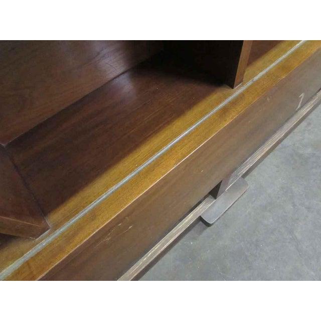 Oak Golden Oak Headboard For Sale - Image 7 of 9