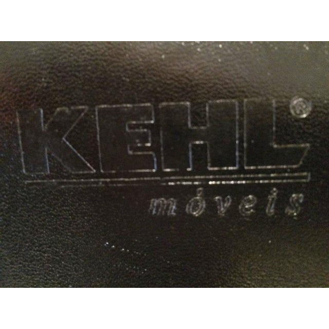 Black Cowhide & Chrome Eames Style Chair For Sale - Image 8 of 12