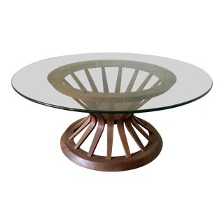 Edward Wormley Style Sheaf of Wheat Coffee Table For Sale