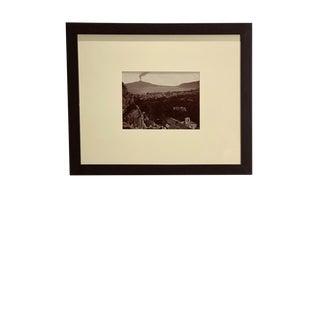Antique Photograph of Mt. Etna For Sale