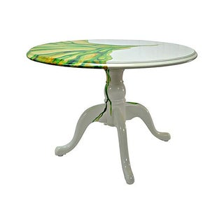 Artistic Hand Painted Round Table Preview