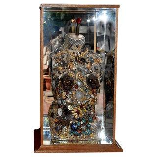 Late 20th Century Daniel Dupir Jewelry Sculpture For Sale
