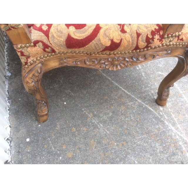Tuscan Style Settees - a Pair For Sale - Image 11 of 13