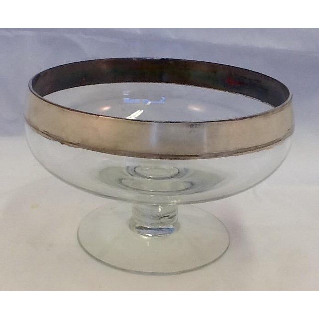 Mid-Century Dorothy Thorpe Stem-Footed Bowl - Image 2 of 5