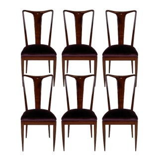 A Set of Fine Dining Chairs by Ulrich For Sale