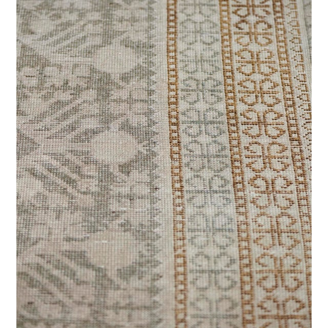 Persian Mid-19th Century Handwoven Wool Khotan Rug For Sale - Image 3 of 7