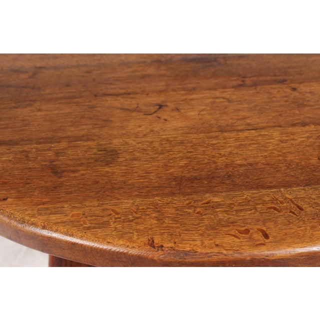 1950s Bavarian-Style Round Coffee Table - Image 6 of 9