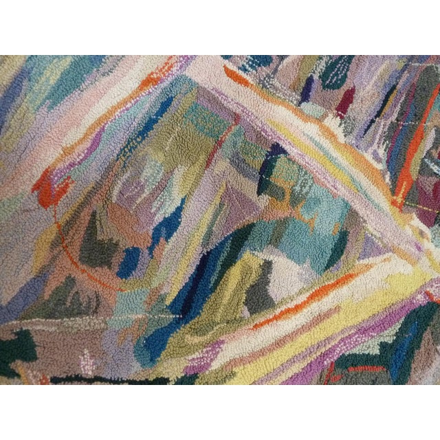 Miripolsky Abstract Expressionist Tapestry - Image 3 of 4
