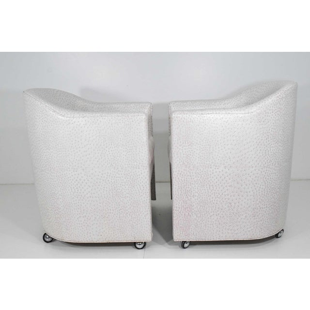 Preview Preveiw Side or Club Chairs - A Pair For Sale - Image 4 of 7