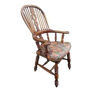 Splat Back Windsor Arm Chair For Sale