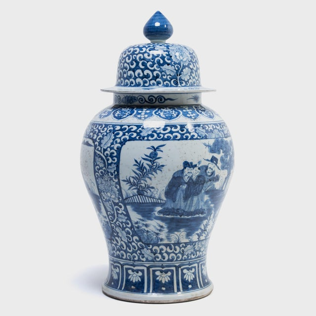 Long ago, ginger jars were used to store valuable spices and transport them from markets in the east to buyers in the...