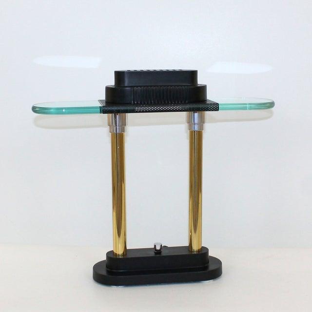 Contemporary Sonneman Post-Modern Banker's Desk Lamp For Sale - Image 3 of 8