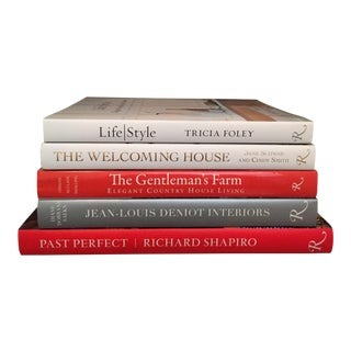 Rizzoli Hardcover Accent Books - Set of 5