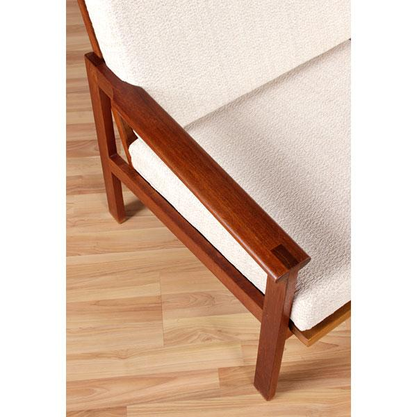 Restored Vintage Illum Wikkelso Adjustable Sofa - Image 4 of 6