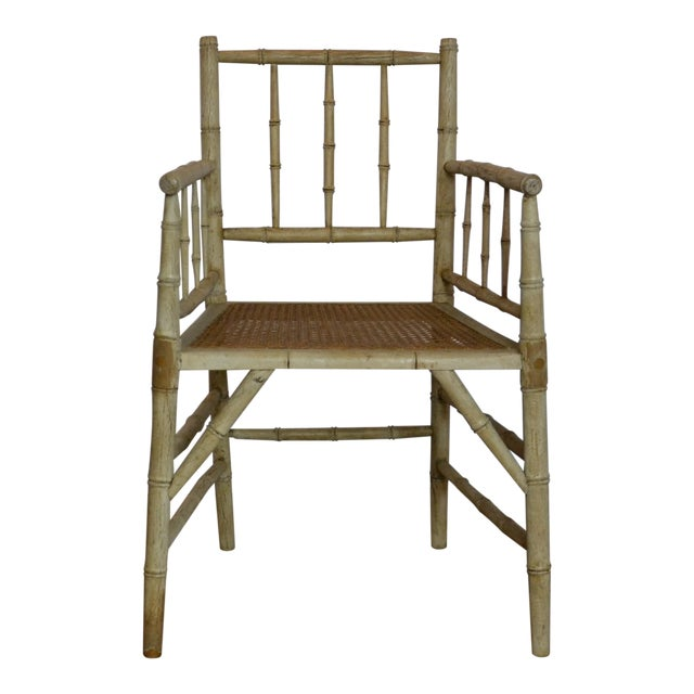 Prime 1950S Vintage Faux Bamboo Accent Chair Pabps2019 Chair Design Images Pabps2019Com